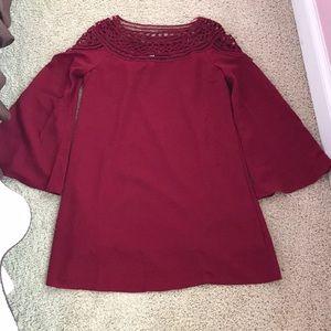 Forever 21 bell sleeve dress